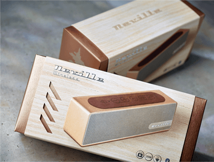 Neville Speaker Packaging